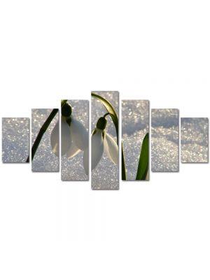 Set Tablouri Multicanvas 7 Piese Peisaj Doi Frati