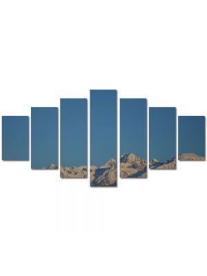 Set Tablouri Multicanvas 7 Piese Peisaj Cer si munti
