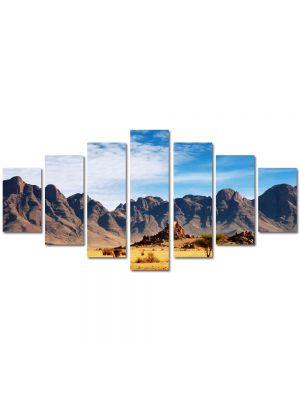 Set Tablouri Multicanvas 7 Piese Peisaj In desert