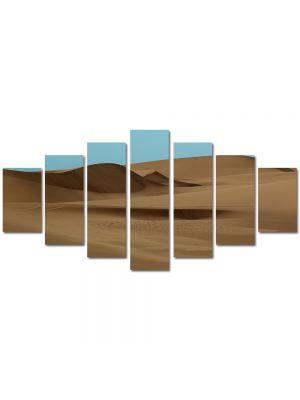 Set Tablouri Multicanvas 7 Piese Peisaj Desert