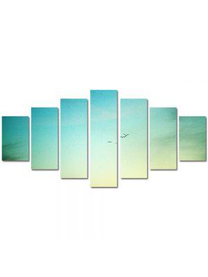 Set Tablouri Multicanvas 7 Piese Peisaj In zare