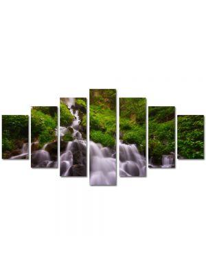 Set Tablouri Multicanvas 7 Piese Peisaj Firicele de apa