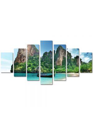 Set Tablouri Multicanvas 7 Piese Peisaj La mare