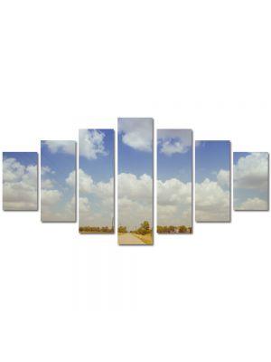 Set Tablouri Multicanvas 7 Piese Peisaj Film american