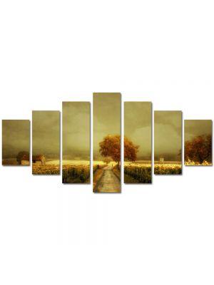 Set Tablouri Multicanvas 7 Piese Peisaj Arta contemporana