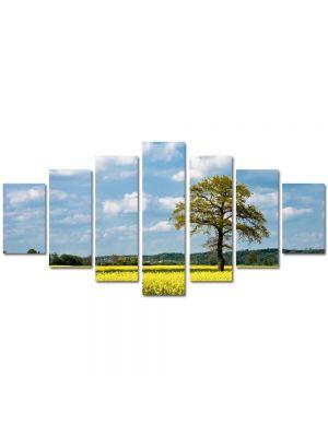Set Tablouri Multicanvas 7 Piese Peisaj Copac batran