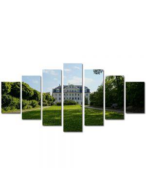 Set Tablouri Multicanvas 7 Piese Peisaj La palat