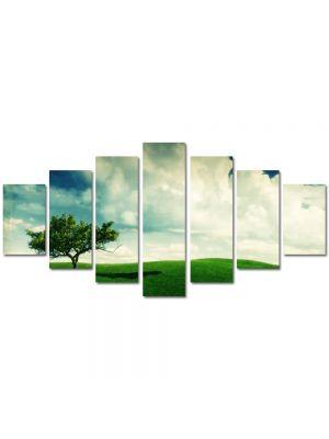 Set Tablouri Multicanvas 7 Piese Peisaj Copacel