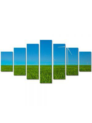 Set Tablouri Multicanvas 7 Piese Peisaj Eoliana