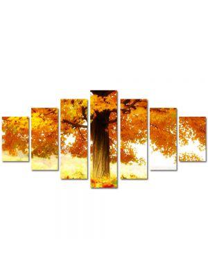 Set Tablouri Multicanvas 7 Piese Peisaj La umbra copacului