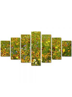 Set Tablouri Multicanvas 7 Piese Peisaj Stropi de culoare