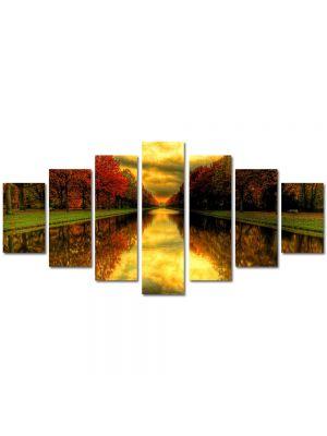 Set Tablouri Multicanvas 7 Piese Peisaj Capat de perspectiva