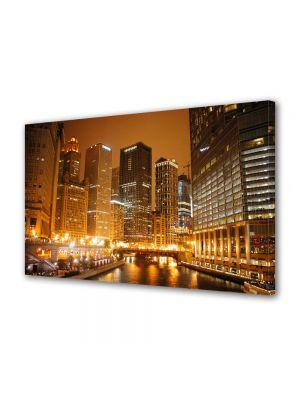 Tablou Canvas Raul din Chicago noaptea