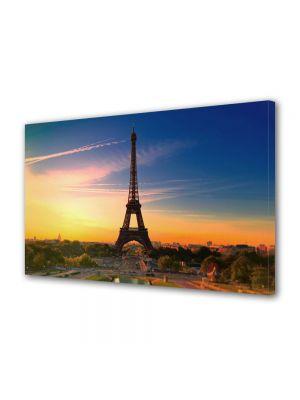 Tablou VarioView MoonLight Fosforescent Luminos in Urban Orase Turnul Eiffel Paris Franta