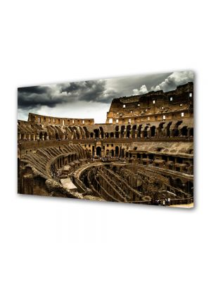 Tablou VarioView MoonLight Fosforescent Luminos in Urban Orase Colosseum Roma Italia