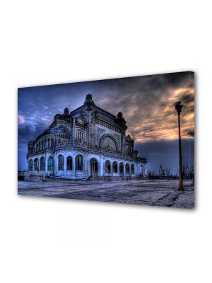 Tablou Canvas Cazinoul din Constanta la Apus
