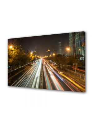 Tablou Canvas Trafic in Beijing China