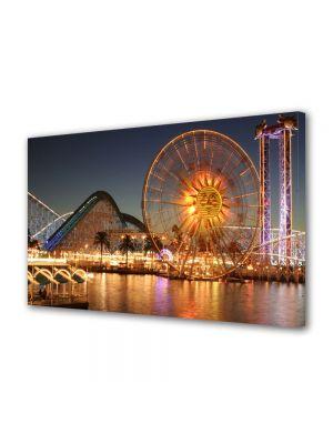 Tablou VarioView MoonLight Fosforescent Luminos in Urban Orase Ferris Wheel