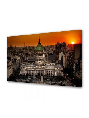 Tablou Canvas Palatul Congresului in Buenos Aires Argentina