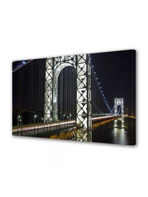 Tablou VarioView MoonLight Fosforescent Luminos in Urban Orase Podul George Washington