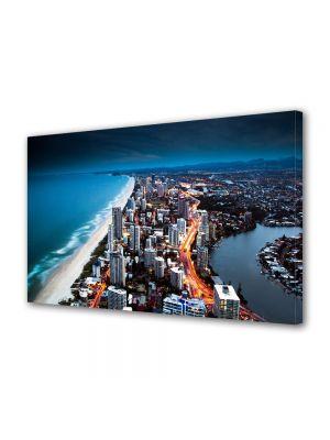 Tablou VarioView MoonLight Fosforescent Luminos in Urban Orase Coasta Australiei