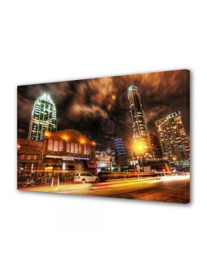 Tablou VarioView MoonLight Fosforescent Luminos in Urban Orase Austin Texas