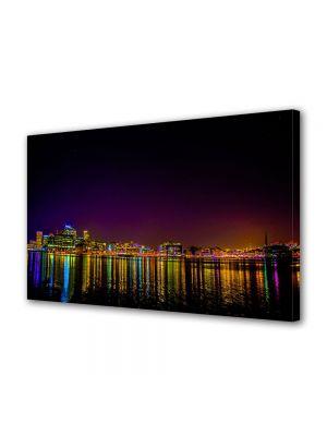 Tablou VarioView MoonLight Fosforescent Luminos in Urban Orase Baltimore Statele unite ale Americii