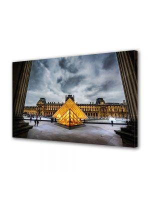 Tablou VarioView MoonLight Fosforescent Luminos in Urban Orase Muzeul Louvre Paris Franta