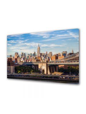 Tablou VarioView MoonLight Fosforescent Luminos in Urban Orase Centrul New York ului
