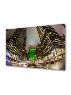 Tablou VarioView MoonLight Fosforescent Luminos in Urban Orase Craciunul la New York