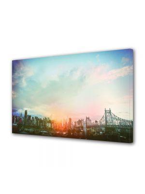 Tablou VarioView MoonLight Fosforescent Luminos in Urban Orase New York