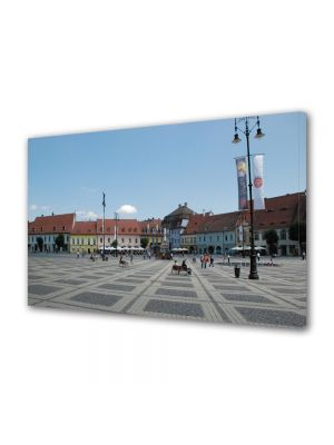 Tablou VarioView MoonLight Fosforescent Luminos in Urban Orase Orasul Sibiu Piata Mare