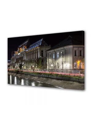 Tablou VarioView MoonLight Fosforescent Luminos in Urban Orase Palatul Justitiei Bucuresti