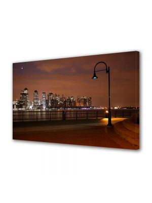 Tablou Canvas Luminos in intuneric VarioView LED Urban Orase Murmurul Orasului