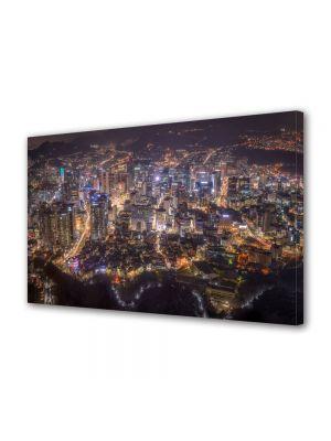 Tablou VarioView MoonLight Fosforescent Luminos in Urban Orase Seoul