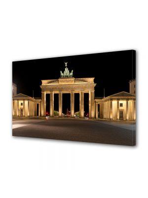 Tablou VarioView MoonLight Fosforescent Luminos in Urban Orase Poarta Brandenburg Berlin Germania