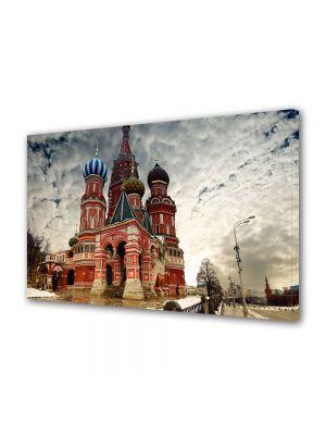 Tablou Canvas Catedrala St Basil in Moscova