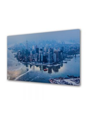 Tablou Canvas Luminos in intuneric VarioView LED Urban Orase Manhattan New York City