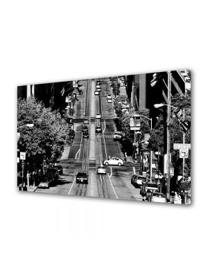 Tablou VarioView MoonLight Fosforescent Luminos in Urban Orase Strada in California