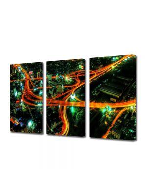 Set Tablouri Multicanvas 3 Piese Sosele in oras
