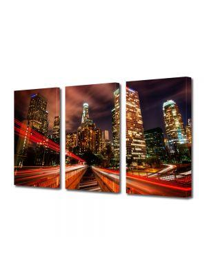 Set Tablouri Multicanvas 3 Piese Los Angeles SUA