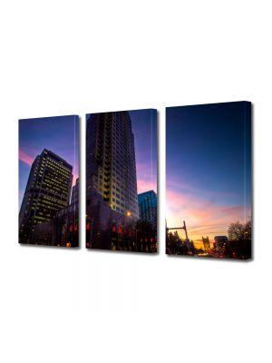 Set Tablouri Multicanvas 3 Piese Sacramento USA