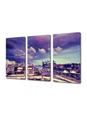 Set Tablouri Multicanvas 3 Piese Genova