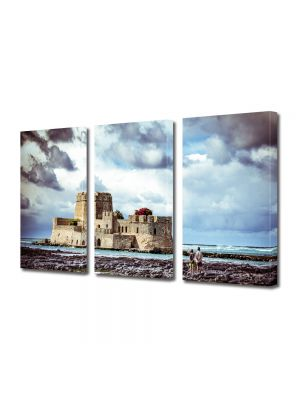 Set Tablouri Multicanvas 3 Piese Insula Coronado
