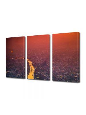 Set Tablouri Multicanvas 3 Piese Londra UK