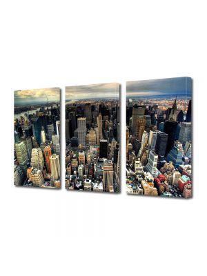 Set Tablouri Multicanvas 3 Piese Manhattan New York