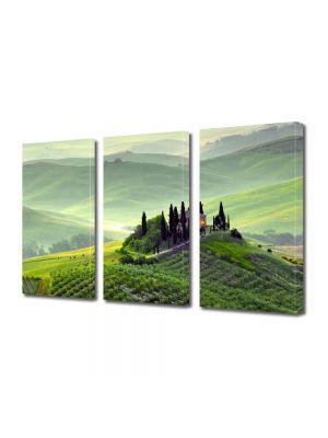 Set Tablouri Multicanvas 3 Piese Toscana Italia