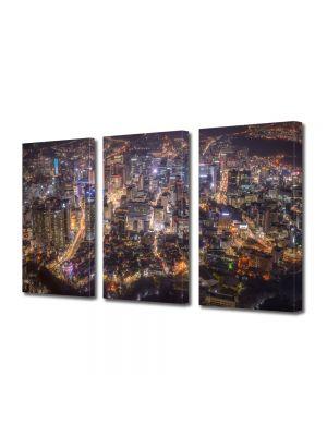 Set Tablouri Multicanvas 3 Piese Seoul