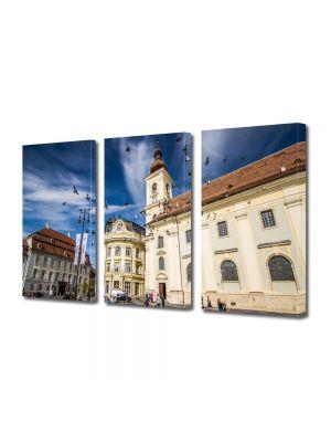 Set Tablouri Multicanvas 3 Piese Sibiu Romania