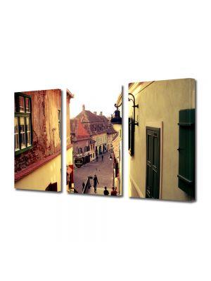Set Tablouri Multicanvas 3 Piese In Sighisoara Romania